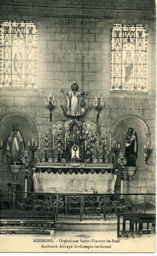 Soissons - Orphelinat Saint-Vincent de Paul - Ancienne abbaye Saint-Crépin-le-Grand