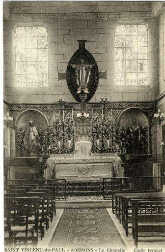 Soissons - Saint-Vincent de Paul - La chapelle_0