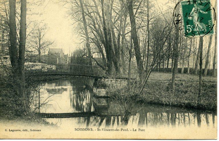 Soissons - Saint-Vincent de Paul - Le parc_0
