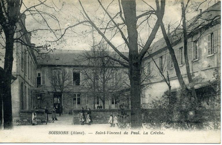 Soissons (Aisne) -Saint-Vincent-de-Paul - La crèche_0
