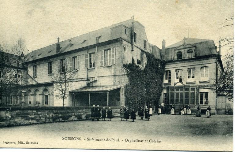 Soissons - Saint-Vincent-de-Paul - Orphelinat et crèche_0