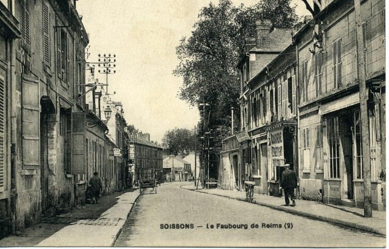 Soissons - Le faubourg de Reims_0