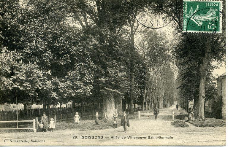 Soissons - Allée de Villeneuve Saint-Germain_0