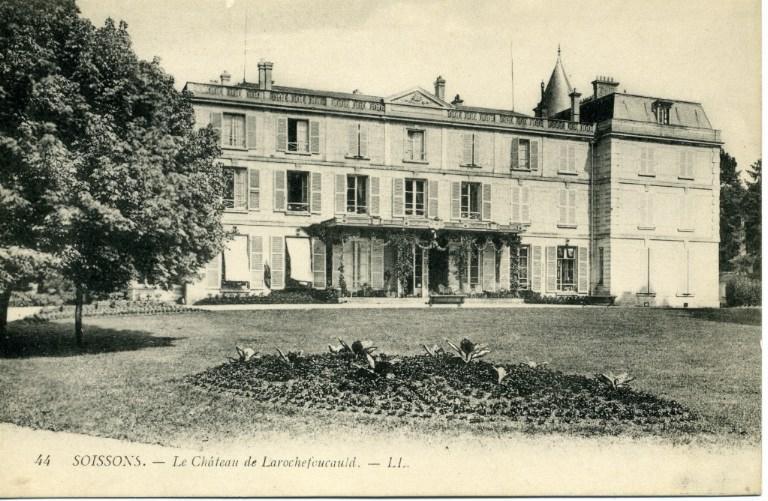 Soissons - Le château de Larochefoucault