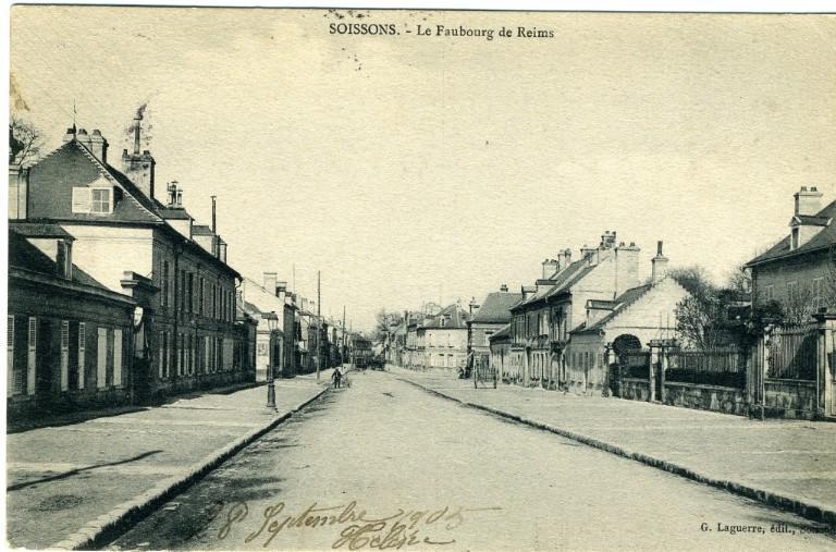 Soissons - Le faubourg de Reims