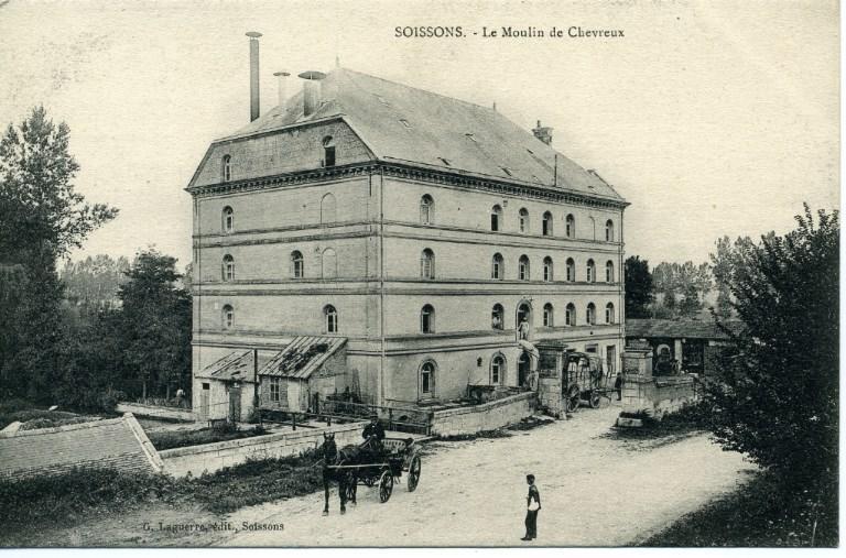 Soissons - Le moulin de Chevreux