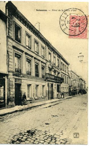 Soissons - Hôtel de la Croix d'Or_0