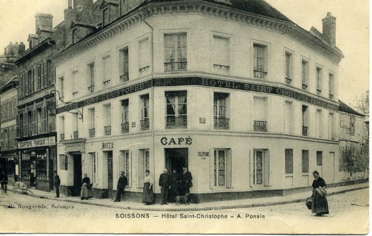 Soissons - Hôtel Saint-Christophe - A. Ponsin_0