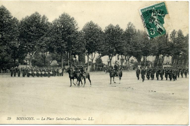 Soissons - La Place Saint-Christophe_0