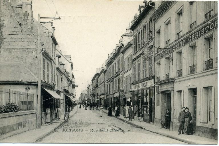 Soissons - Rue Saint-Christophe