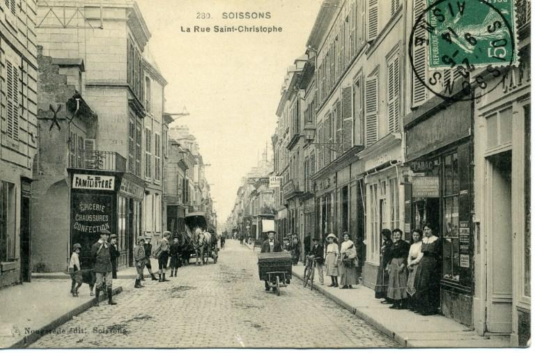 Soissons - La Rue Saint-Christophe_0