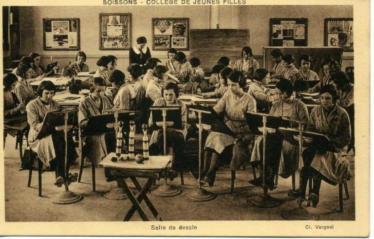 Soissons - Collège de Jeunes Filles - Salle de dessin_0