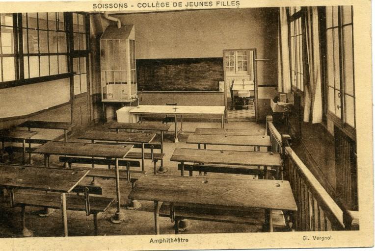 Soissons - Collège de Jeunes Filles - Amphithéâtre_0