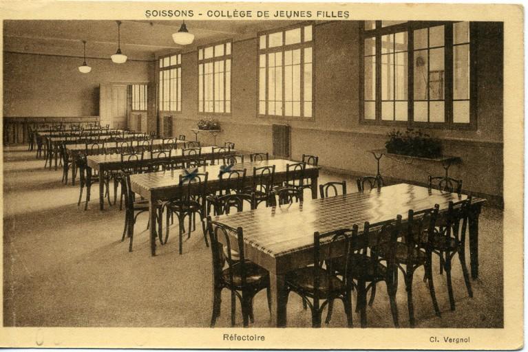 Soissons - Collège de Jeunes Filles - Réfectoire_0