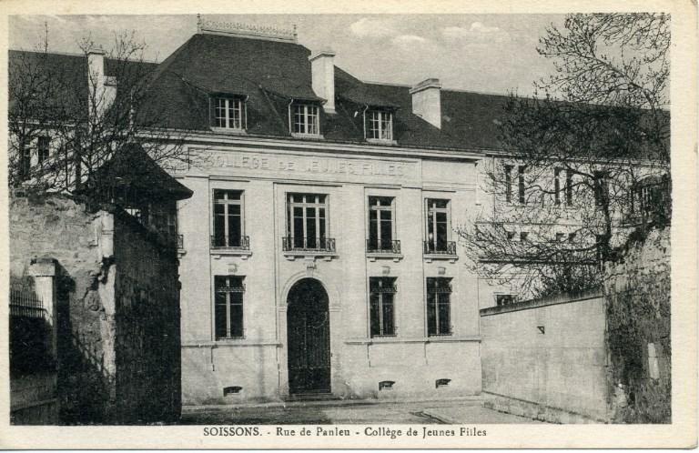 Soissons - Rue de Panleu - Collège de Jeunes Filles_0