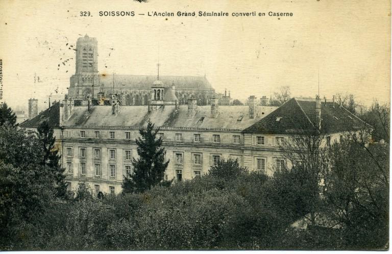 Soissons - L'Ancien Grand Séminaire converti en Caserne_0