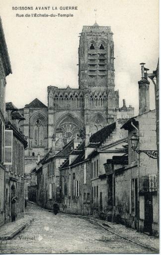 Soissons avant la guerre - Rue de l'Echelle du Temple_0