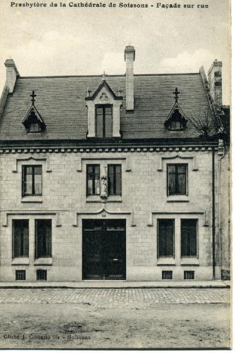 Soissons - Presbytère de la Cathédrale de Soissons - Façade sur rue_0