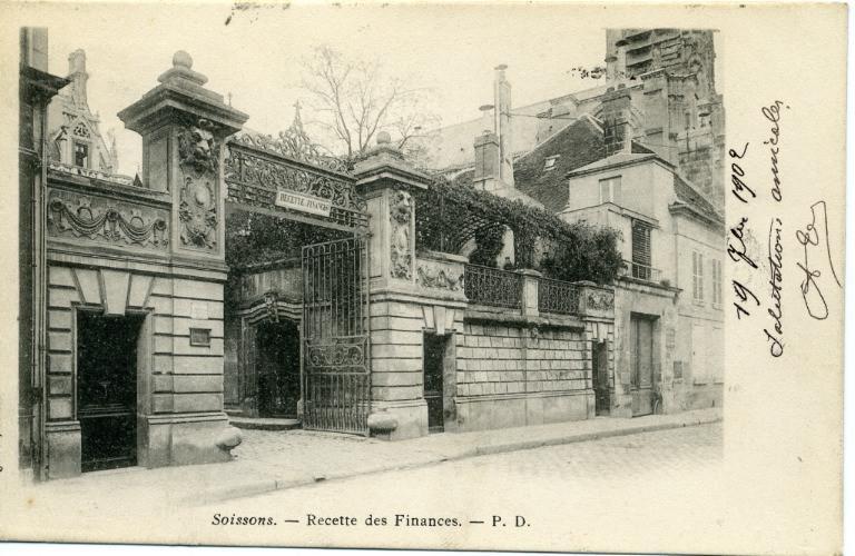 Soissons - Recette des Finances_0