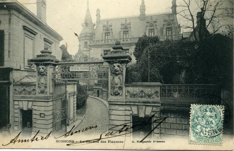 Soissons - La Recette des Finances_0