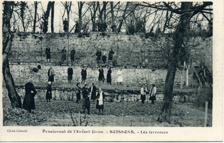 Soissons - Pensionnat de l'Enfant Jésus - Les terrasses_0