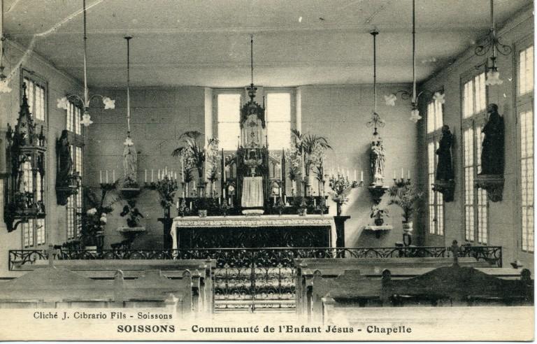 Soissons - Communauté de l'Enfant Jésus - Chapelle_0