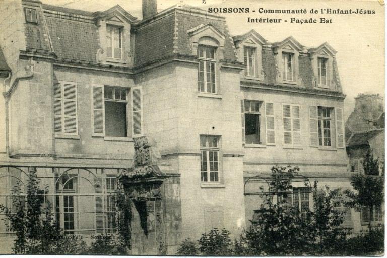 Soissons - Communauté de l'Enfant-Jésus - Intérieur - Façade Est_0