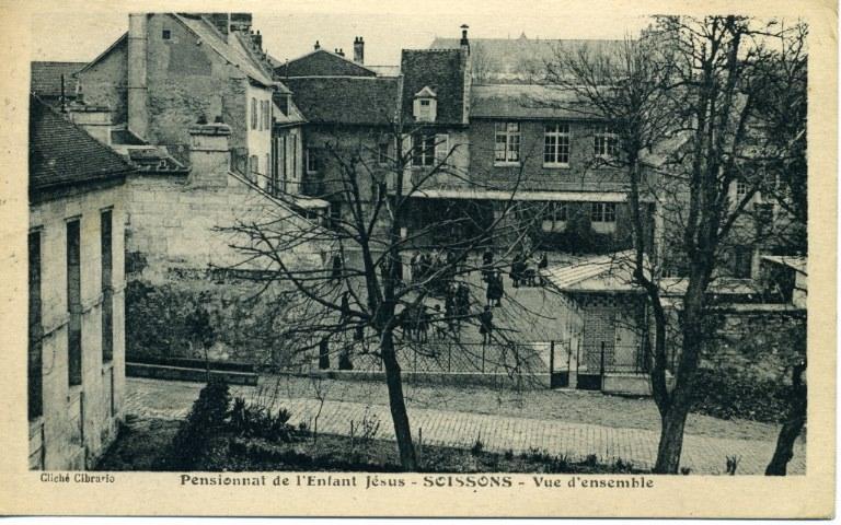 Soissons - Pensionnat de l'Enfant-Jésus - Vue d'ensemble_0