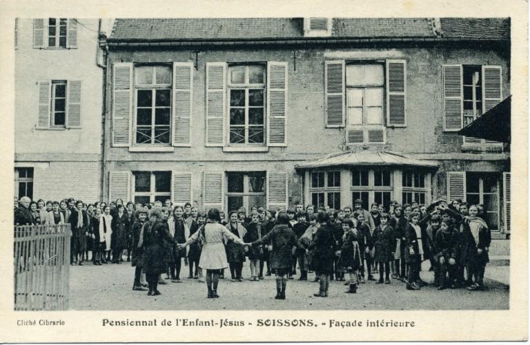 Soissons - Pensionnat de l'Enfant-Jésus - Façade intérieure_0