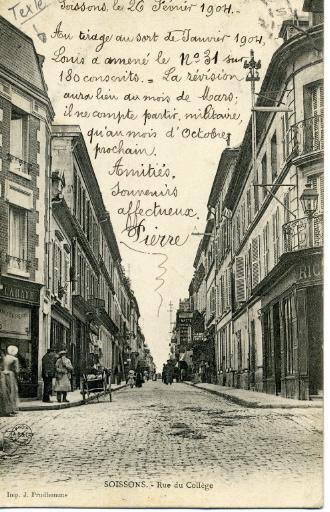 Soissons - Rue du Collège