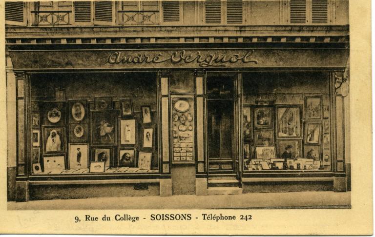Soissons - André VERGNOL 9, Rue du Collège - Téléphone 242_0