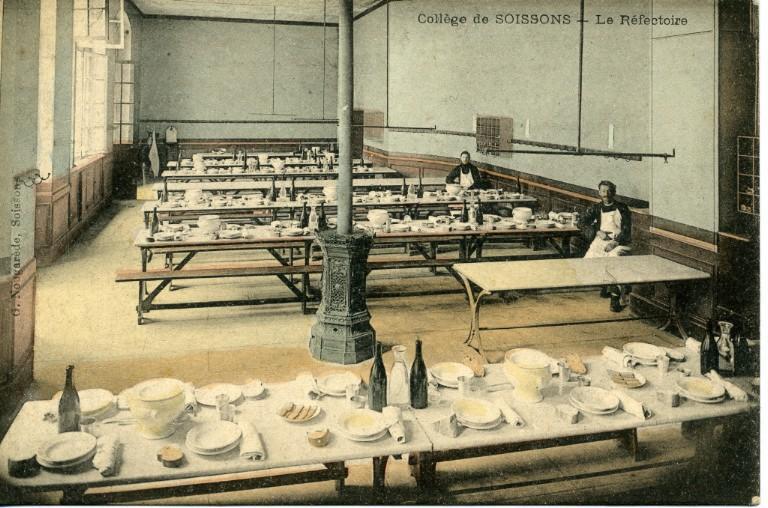 Collège de Soissons - Le Réfectoire_0