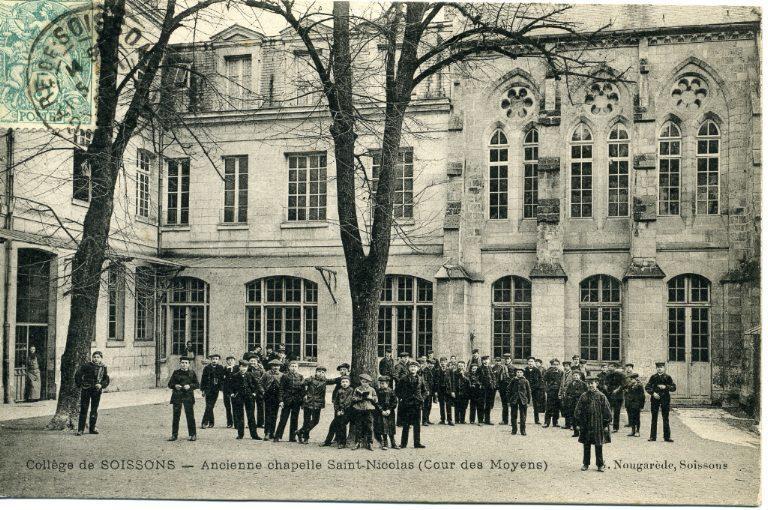 Collège de Soissons - Ancienne chapelle Saint-Nicolas (Cour des Moyens)_0