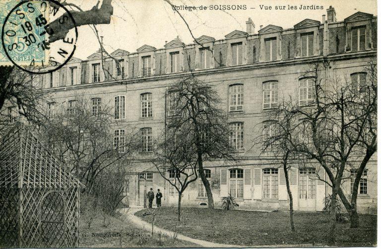 Collège de Soissons - Vue sur les Jardins_0