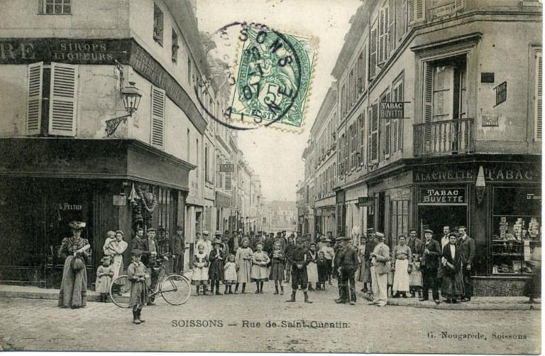 Soissons - Rue de Saint-Quentin_0