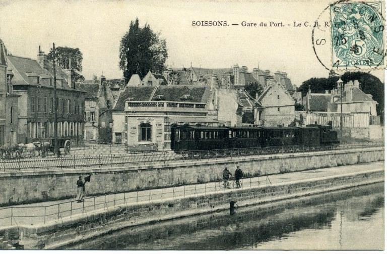 Soissons - Gare du Port - Le C.B R_0