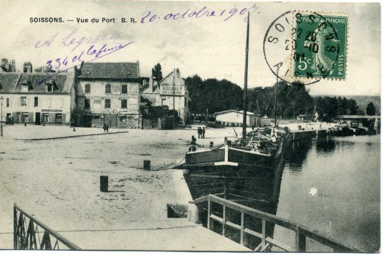 Soissons - Vue du port B R