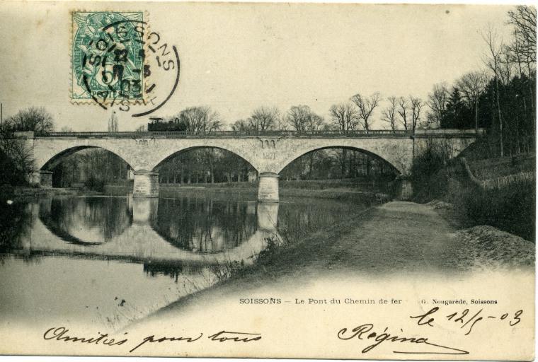 Soissons - Le Pont du Chemin de fer_0