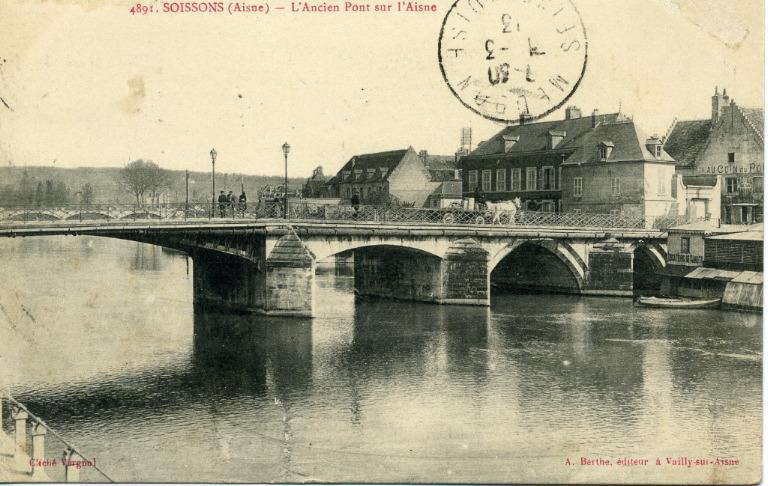 Soissons - L'Ancien Pont sur l'Aisne_0