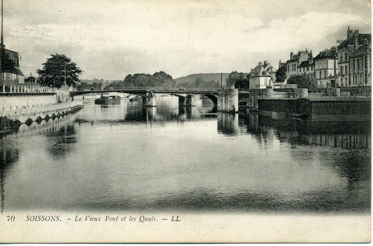 Soissons - Le Vieux Pont et les Quais