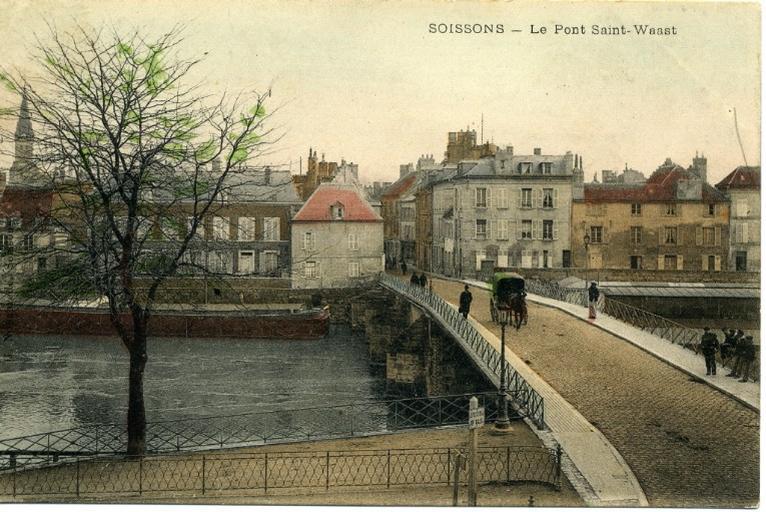 Soissons - Le pont Saint-Waast_0