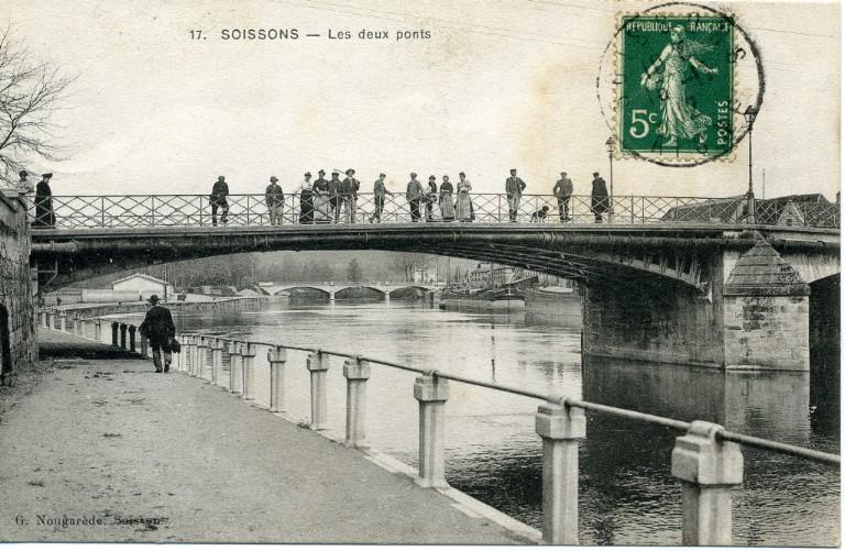 Soissons - Les deux ponts_0