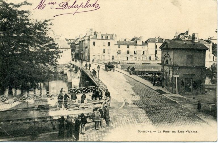 Soissons - Le Pont de Saint-Waast