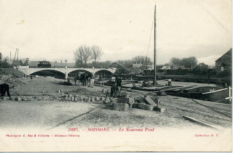 Soissons - Le Nouveau Pont