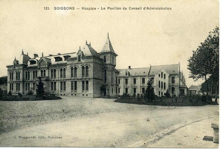 Soissons - Hospice - Le Pavillon du Conseil d'Administration_0