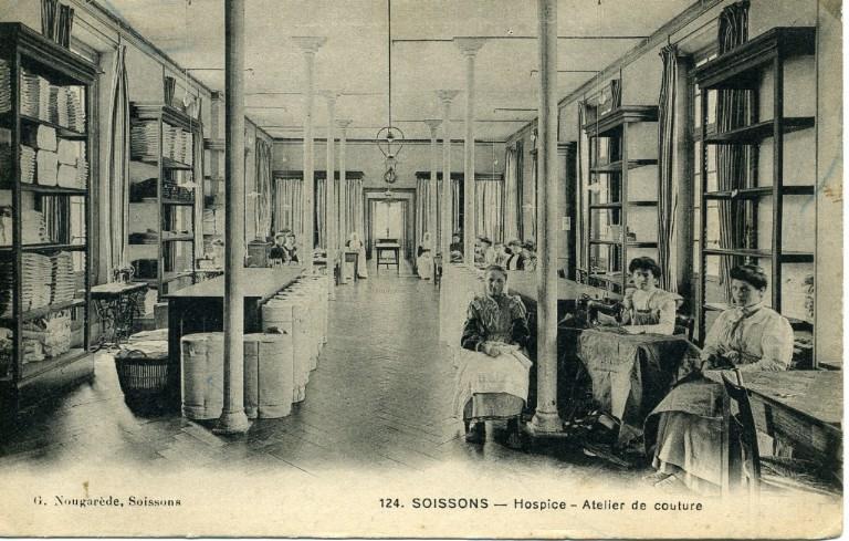 Soissons - Hospice - Atelier de couture_0
