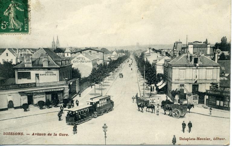 Soissons - Avenue de la gare_0