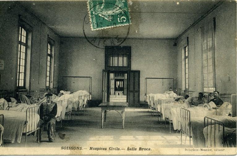 Soissons - Hospices Civils - Salle Broca