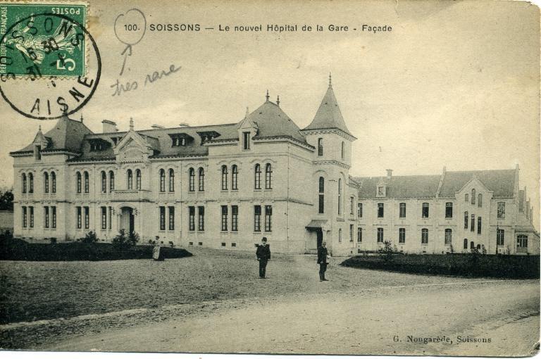 Soissons - Le nouvel Hôpital de la Gare - Façade_0
