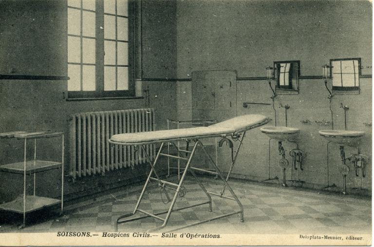 Soissons - Hospices Civils - Salle d'Opérations_0